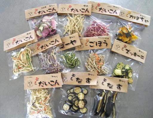 乾燥野菜の販売許可
