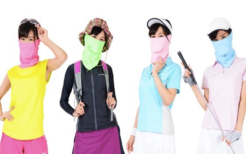 呼吸ができるUVマスク