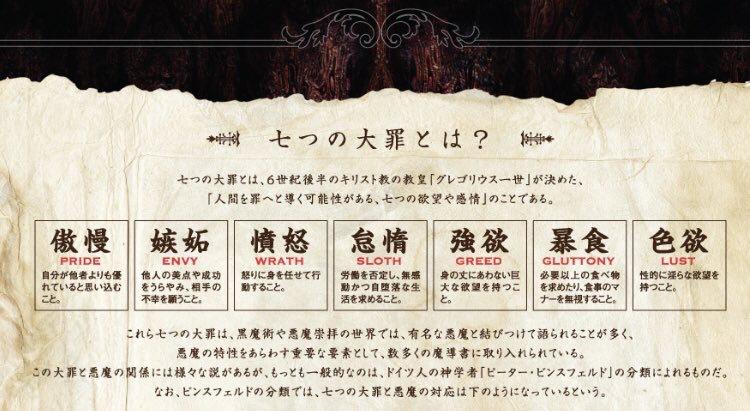7つの大罪