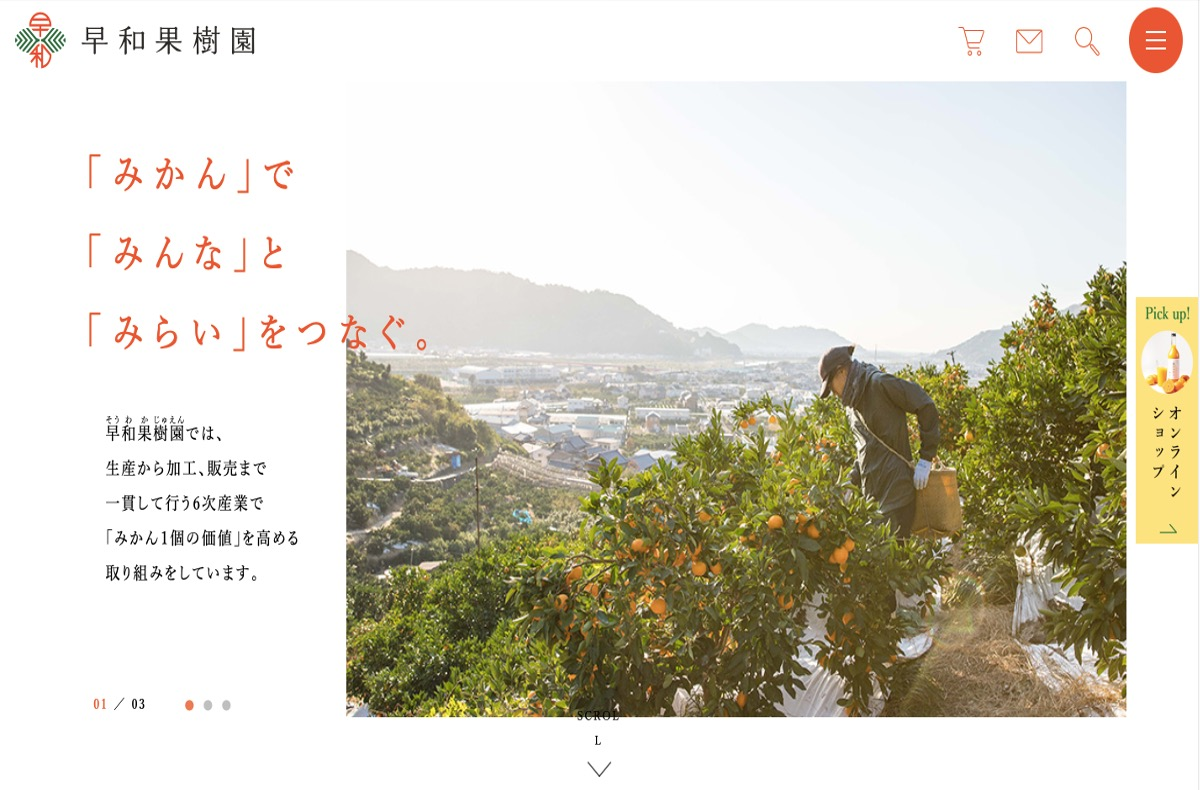 みかん農家さんのブログ・SNSその3:早和果樹園さま